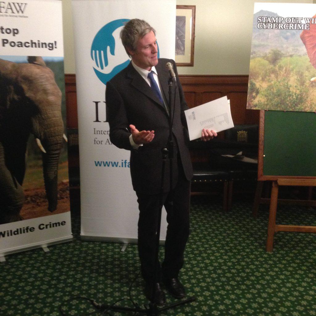 zac goldsmith conservative animal welfare foundation patron