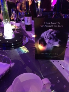 ceva animal welfare awards 2016 event blue fox founder finalist conservative animal welfare foundation