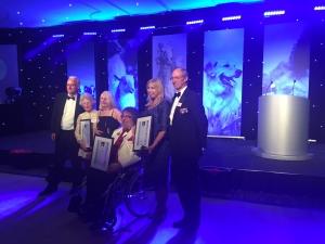 lorraine ceva awards pic blue fox conservative animal welfare foundation