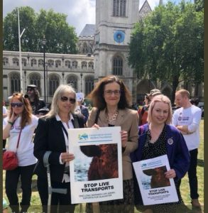 theresa villiers live exports june 2018