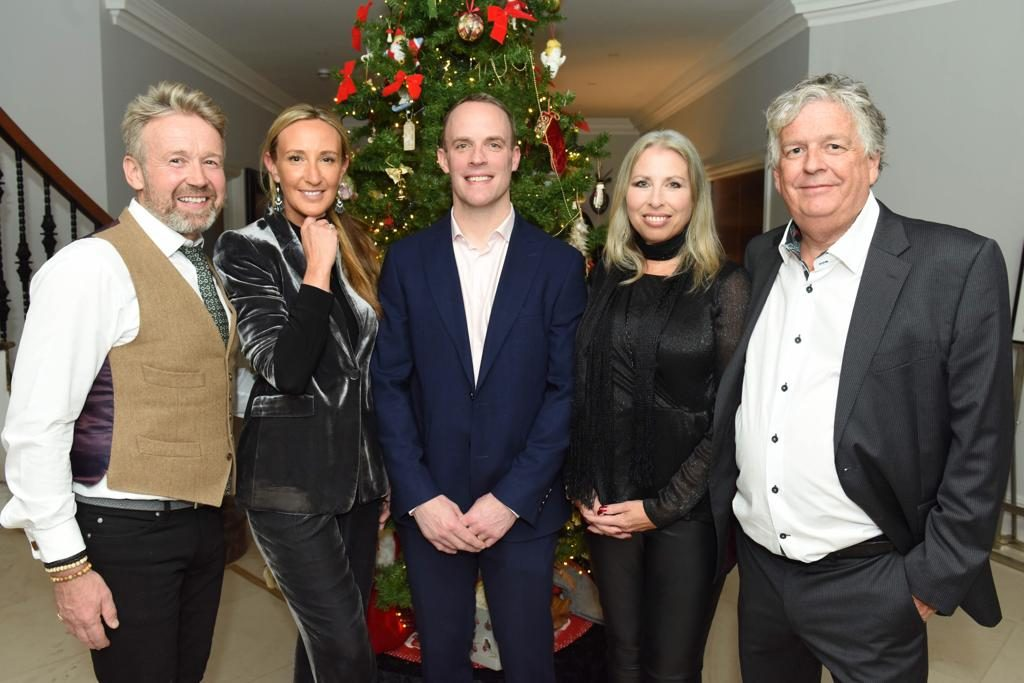 dominic raab patron of conservative animal welfare foundation 2019