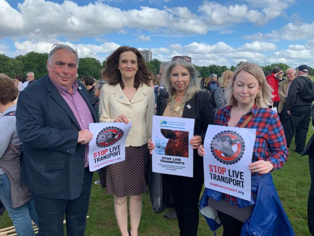 Theresa Villiers MP appointed as the Secretary of State for the  Environment, Food & Rural Affairs | Conservative Animal Welfare Foundation